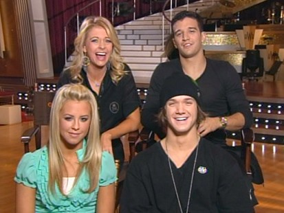 VIDEO: Melissa Joan Hart and Louie Vito talk about their final dances.