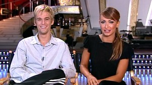 "VIDEO: Aaron Carter and Karina Smirnoff look back on their ""Dancing"" experience."