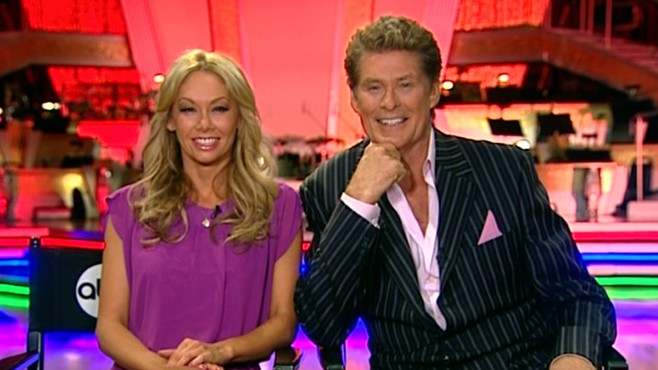 "VIDEO: The former ""Baywatch"" star talks about his ""DWTS"" experience."