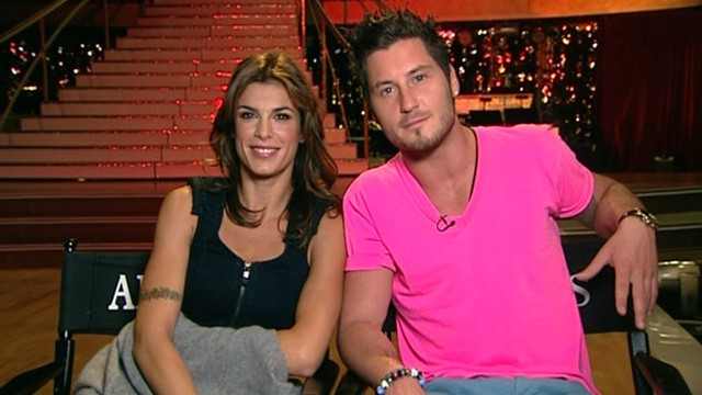 "VIDEO: Elisabetta Canalis, Val Chmerkovskiy discuss their time on ""DWTS"" season 13."