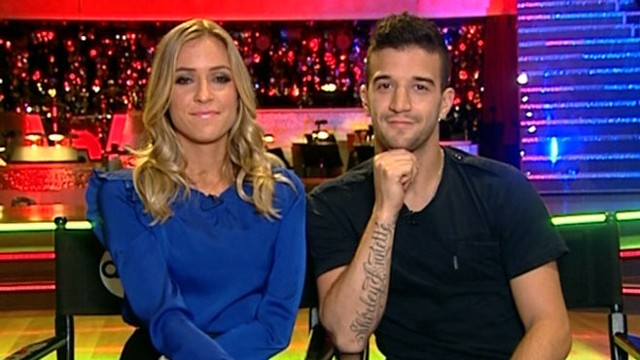 "VIDEO: Mark Ballas, Kristin Cavallari discuss their run on ""Dancing With the Stars."""