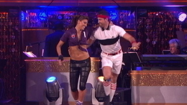 """VIDEO: U.S. Womens soccer star narrowly misses trip to """"Dancing With the Stars"""" final."""