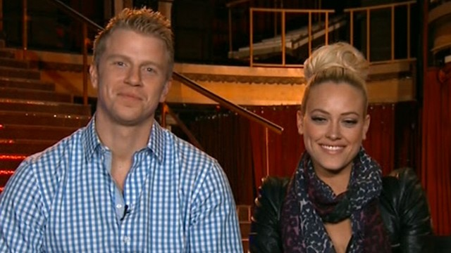 VIDEO: Sean Lowe and Peta Murgatroyd discuss being booted from ABC show and the judges Week 8 outburst.