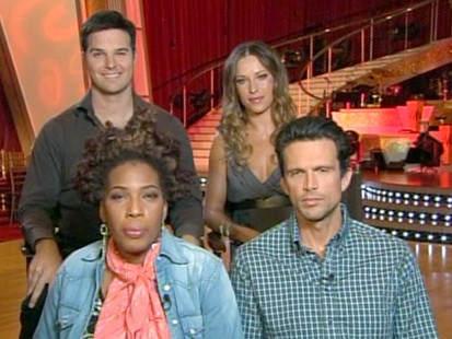 "VIDEO: Two couples are booted on the newest season of ""Dancing with the Stars."""