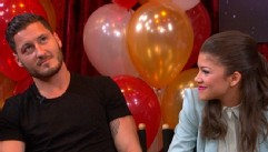 "VIDEO: Derek Hough, Mark Ballas, Val Chmerkovskiy and Karina Smirnoff face off in ""Two to Tango."""