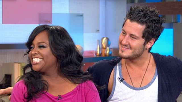 "VIDEO: ""The View"" co-host joins ""GMA"" with dance partner Val Chmerkovskiy."