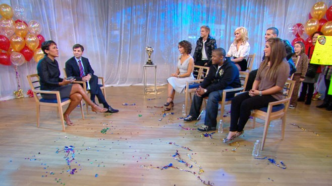 VIDEO: Jennifer Grey, Bristol Palin and Kyle Massey take GMA behind-the-scenes.