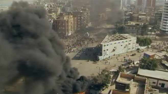 VIDEO: Protests in Egypt