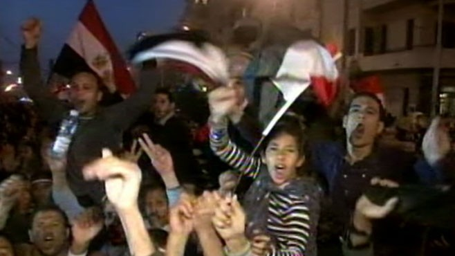 VIDEO: Revolution in Egypt