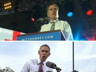 Watch: Mitt Romney, President Obama Resume Campaigns Post Storm