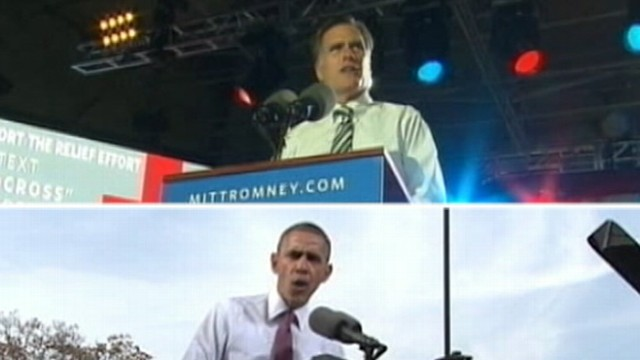 Mitt Romney, President Obama Resume Campaigns Post Storm