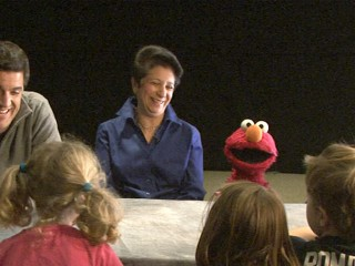 Watch: Elmo Calms Children Frightened by Superstorm Sandy