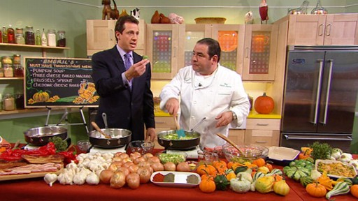VIDEO: Emeril's Must-Haves on Thanksgiving