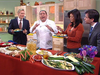 VIDEO: Emeril Lagasse reveals his most comforting recipes.