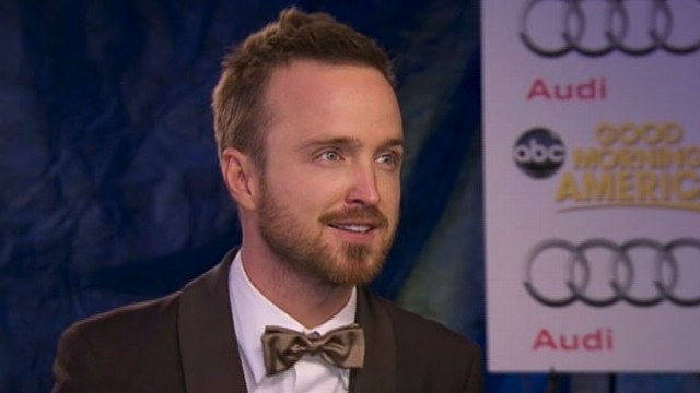 VIDEO: Emmys 2012: Breaking Bads Aaron Paul Interview