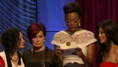 VIDEO: Aisha Tyler plays it cool when she realizes she almost announced the winner to a different award.