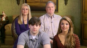 VIDEO:The Tuohy family talks about its adopted son, Michael Oher.