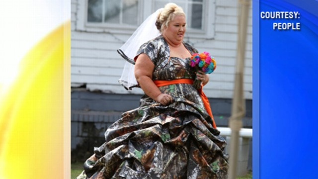 VIDEO: New pictures of Mama June and her longtime love Sugar Bear may have been from a wedding.