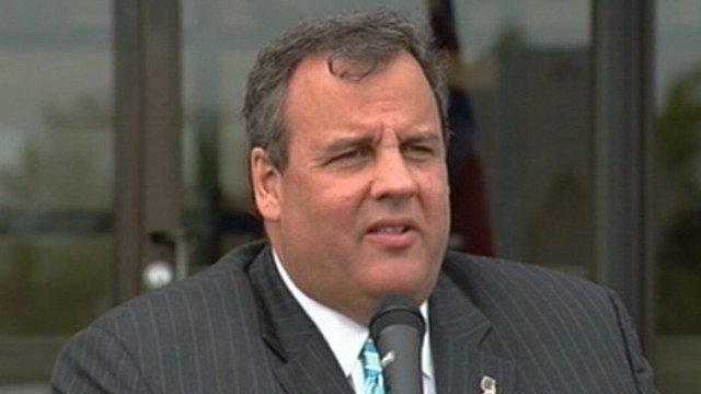 VIDEO: New Jersey governor sounded off at reports who questioned him about his secret surgery.
