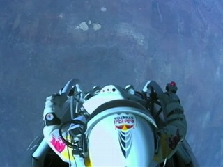 Watch: Felix Baumgartner's Record-Breaking Skydive From Space