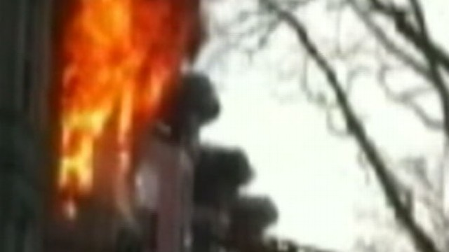 VIDEO: Dan Harris reports on jaw-dropping video of a Brooklyn fire.
