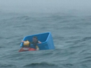 Watch: Alaskan Fisherman Stranded at Sea, Rescued