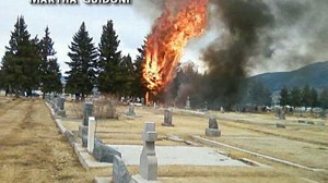 VIDEO: Investigators try to determine the cause of the crash in Montana.