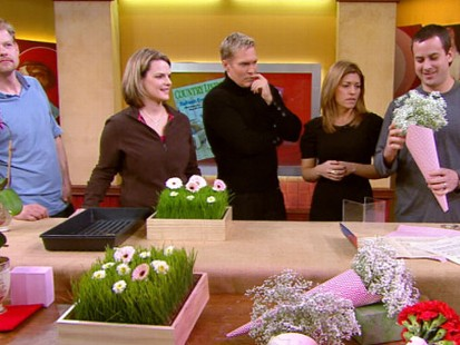 VIDEO: Sarah Gray Miller demonstrates how to make a bouquet for less than 20.