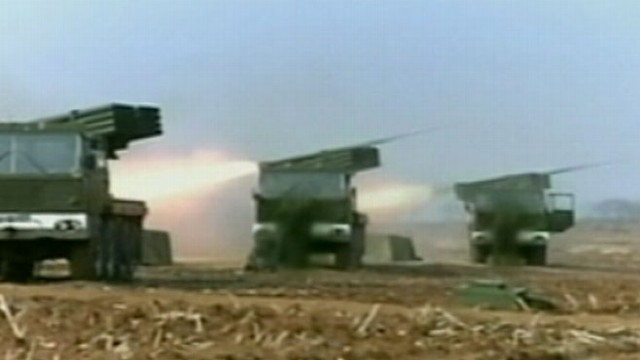 Video: North Korea Fires Short Range Missiles