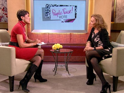 VIDEO: Diane von Furstenberg awards female leaders.