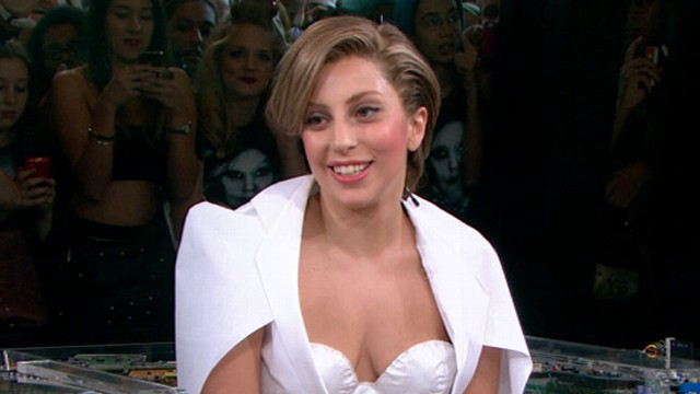 "VIDEO: The pop sensation talks about her creative process behind the new single, ""Applause."""