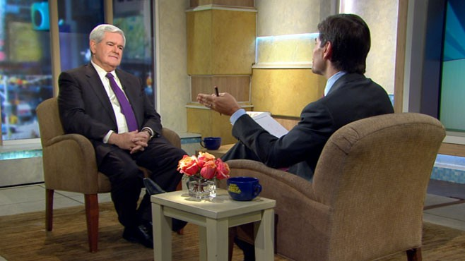 VIDEO: Former Speaker Newt Gingrich discusses Obama, the recent election and 2012.