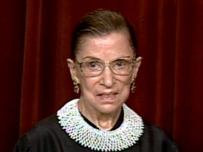 VIDEO: U.S. Justice Ginsburg Hospitalized