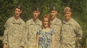 VIDEO: Military families worry for loved ones.