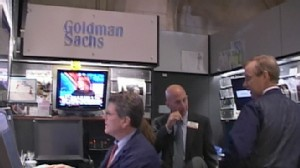VIDEO: The SEC charges investment giant Goldman Sachs with fraud.
