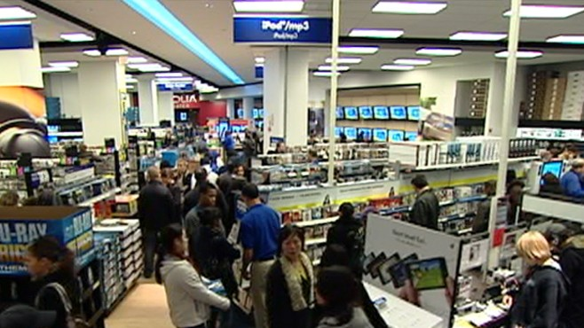 VIDEO: Americans seem to be opening their wallets and spending again.