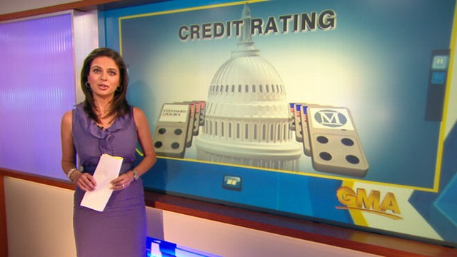 VIDEO: Bianna Golodryga on what would happen if Americas credit score is downgraded.