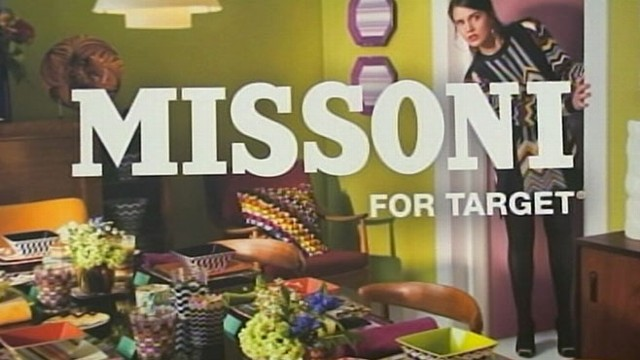 VIDEO: Italian designer Missoni released a new clothing line for the discount store.