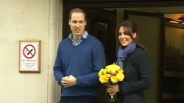 VIDEO: Pregnant Kate Spends Weekend with Family