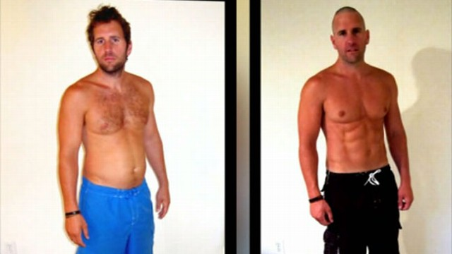 Before and After Weight Loss Photos Faked By Trainer Andrew Dixon ...