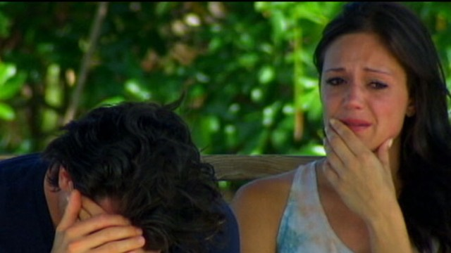 VIDEO: The reality-TV star was blindsided by one of the shows biggest breakups ever.