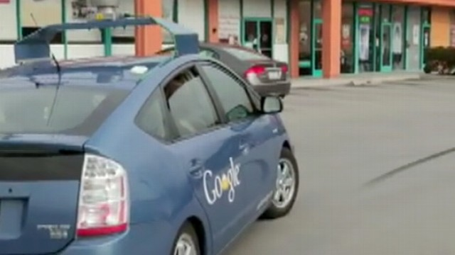 VIDEO: Nevada is the first to allow car driven by artificial intelligence on the road.