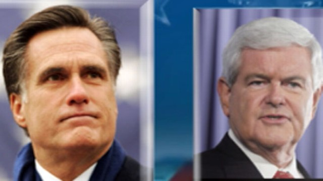 VIDEO: Gingrich releases nastiest ad yet as Romneys numbers surge.