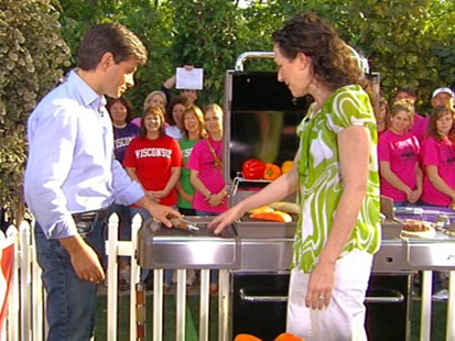 VIDEO: The Food Networks Maile Carpenter shows off some grill gadgets.