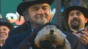 VIDEO: Punxsutawney Phil predicts there will be six more weeks of winter.
