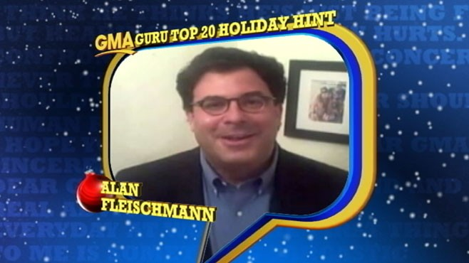 VIDEO: Advice Guru Finalist Alan Fleischmann Offers Holiday Tips