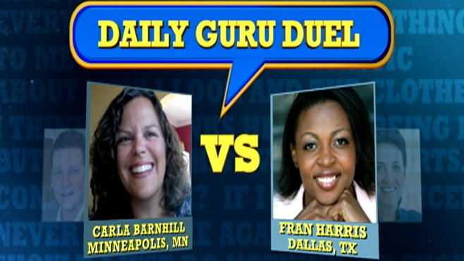 VIDEO: Carla Barnhill and Fran Harris answer a viewer's question.