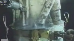 VIDEO: Latest plan will temporarily increase the flow of gushing oil before capping it.