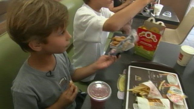 VIDEO: Matt Gutman on why restaurant giant changed what it was selling to children.