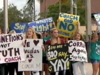 Watch: Cheerleaders, Parents Battle Coach Over Booster Funds